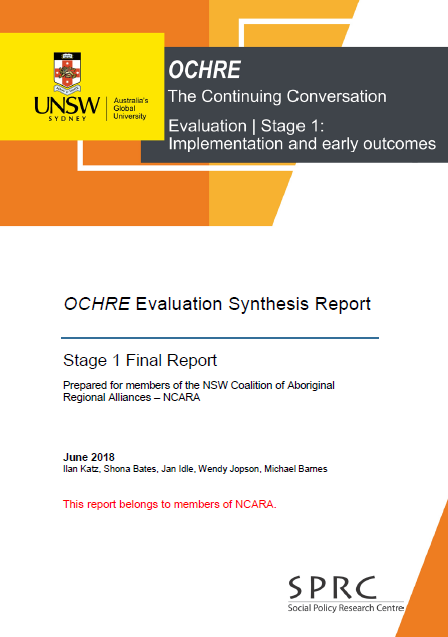 OCHRE evaluation synthesis report (PDF, 1.6MB)