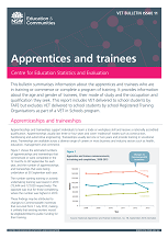 Apprentices and trainees bulletin (PDF, 830kB)