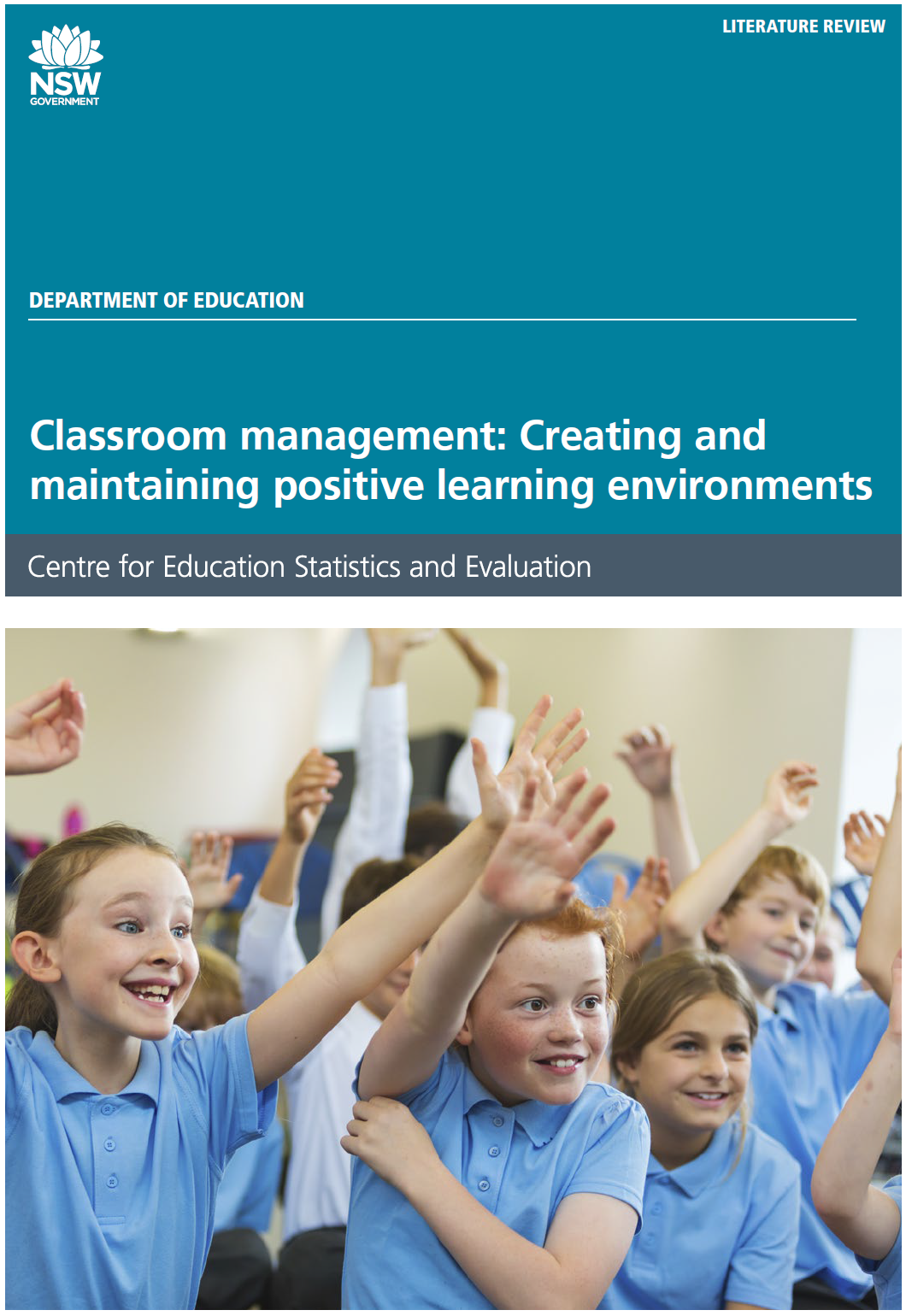 classroom management lit review