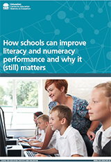 How schools can improve literacy and numeracy performance (PDF, 1MB)