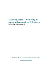 The Way Ahead Follow-up and assessment