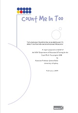 Count Me In Too Learning Framework in Number 2008