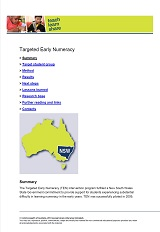 Teach Learn Share 48 Targeted Early Numeracy