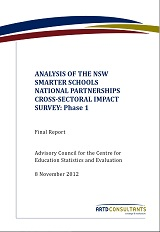 Cross-sectoral Impact Survey Rpt 1 Nov2012