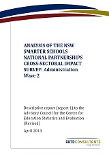 Cross-sectoral Impact Survey Rpt 2 Apr2013