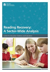Reading Recovery Sector-wide Analysis 2015