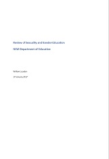 Sexuality gender education review 2017