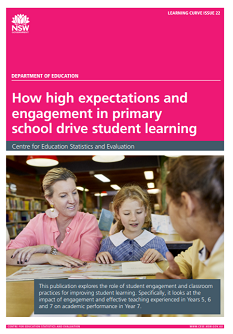 How high expectations and engagement in primary school drive student learning (PDF, 6.7MB)