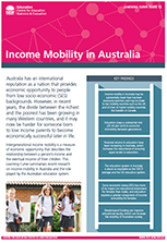Income Mobility publication (PDF, 1.7MB)