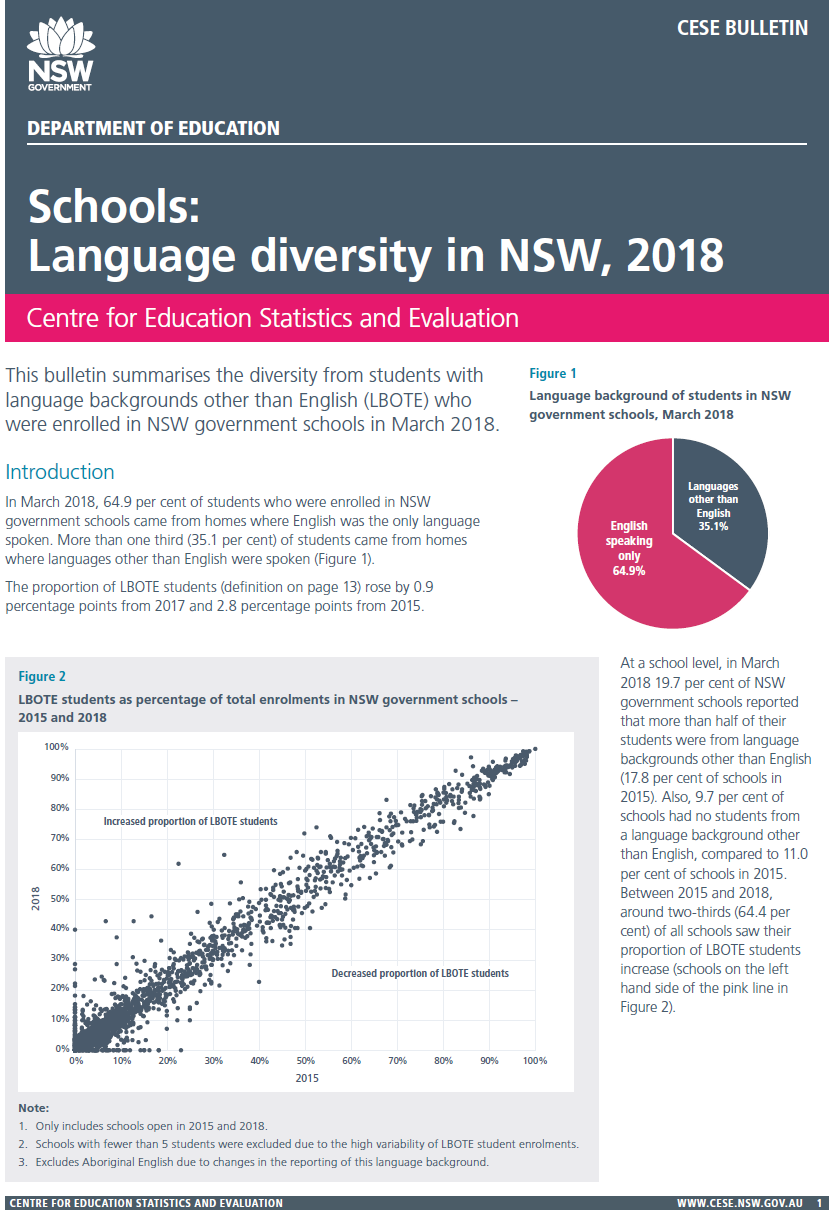 language diversity bulletin (PDF, 680kB)
