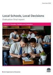 Local Schools, Local Decisions final evaluation report (PDF, 6MB)