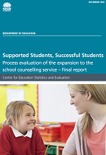 Supported Students School Counselling Evaluation