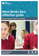 What works best reflection guide (PDF, 800kB)