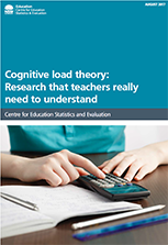 cognitive load theory (PDF, 510kb)