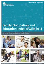 Family Occupation and Education Index paper (PDF, 2MB)