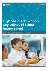 High value-add schools: Key drivers of school improvement (PDF, 750kB)