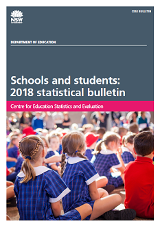 Schools and students: 2018 statistical bulletin (PDF, 2.1MB)